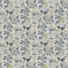 Ink Floral Decorator Fabric by Trend