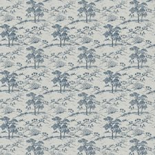 Navy Asian Decorator Fabric by Fabricut