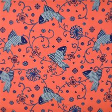 Indigo Animal Decorator Fabric by Lee Jofa