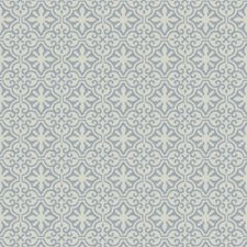 Cobalt Medallion Decorator Fabric by Stroheim
