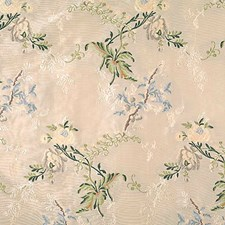 Multicolor On Ivory Decorator Fabric by Scalamandre