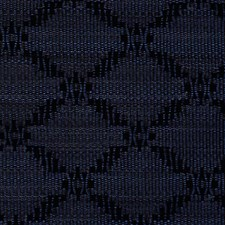 Royal/Black Decorator Fabric by Scalamandre