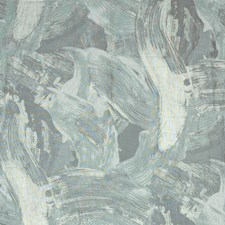 Maya Blue Contemporary Decorator Fabric by S. Harris
