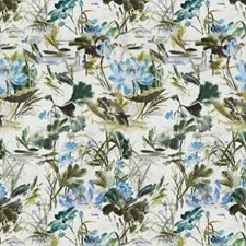 Garden Floral Decorator Fabric by S. Harris