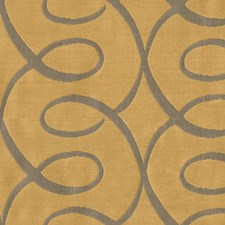Yellow/Grey Lattice Decorator Fabric by Kravet