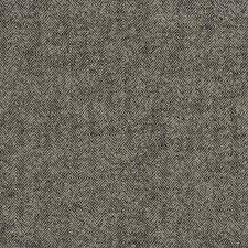 Ebony Herringbone Decorator Fabric by Trend