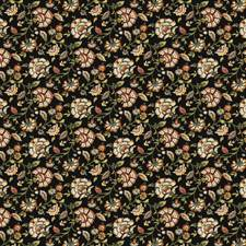 Noir Floral Decorator Fabric by Trend