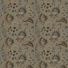 Terra Cotta Embroidery Decorator Fabric by Stroheim