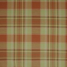 Sunset Plaid Check Decorator Fabric by Greenhouse