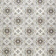 Zinc Medallion Decorator Fabric by Greenhouse