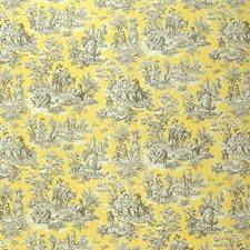 Lemondrop Toile Decorator Fabric by Greenhouse