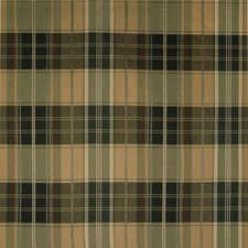 Forest Plaid Check Decorator Fabric by Greenhouse