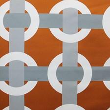 Orange Koi Decorator Fabric by Scalamandre