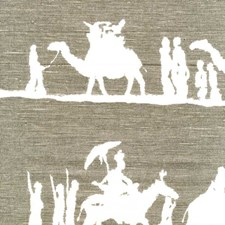 Taupe Animal Decorator Fabric by Andrew Martin