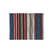 Red Ethnic Decorator Fabric by Andrew Martin