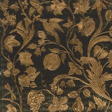 Green/Gold Decorator Fabric by Scalamandre