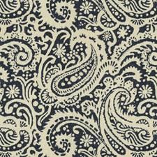 Indigo Paisley Decorator Fabric by Kravet