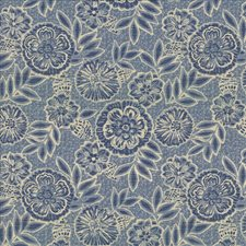 Bluebell Decorator Fabric by Kasmir