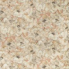 Blush/Natural Botanical Decorator Fabric by Kravet