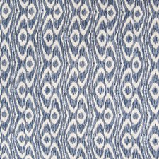 Sapphire Ikat Decorator Fabric by Greenhouse