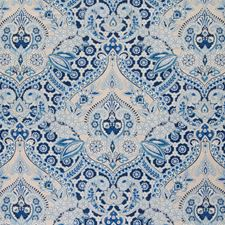 Ocean Paisley Decorator Fabric by Greenhouse