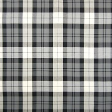 Jet Plaid Check Decorator Fabric by Greenhouse