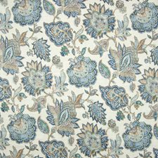 Laguna Floral Decorator Fabric by Greenhouse