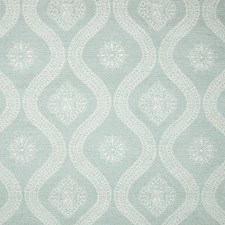 Mist Medallion Decorator Fabric by Greenhouse