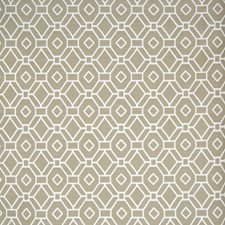 Linen Geometric Decorator Fabric by Greenhouse