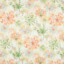 Orange Blossom Floral Decorator Fabric by Greenhouse