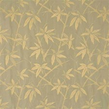 Pale Aqua Botanical Decorator Fabric by G P & J Baker