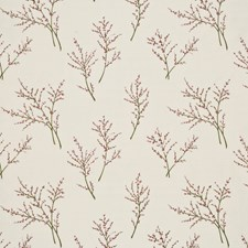 Rose Embroidery Decorator Fabric by G P & J Baker