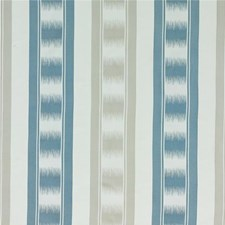 Royal Blue/Silver Decorator Fabric by G P & J Baker