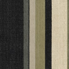 Onyx/Beige Stripes Decorator Fabric by G P & J Baker