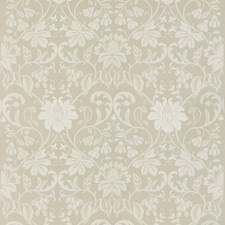 Linen Embroidery Decorator Fabric by G P & J Baker