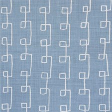 Blue/Oyster Modern Decorator Fabric by Lee Jofa