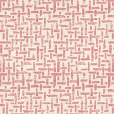 Pink/Nat Modern Decorator Fabric by Lee Jofa