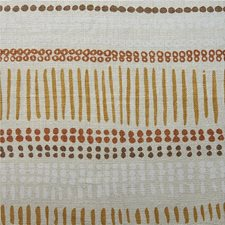 Pumpkin/Or Stripes Decorator Fabric by Lee Jofa
