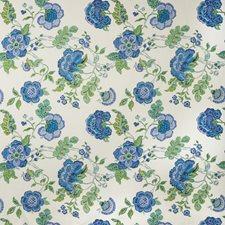 Blue/Green Botanical Decorator Fabric by Lee Jofa