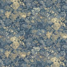 Midnight Blue Decorator Fabric by Kasmir