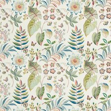 Peacock Botanical Decorator Fabric by Kravet