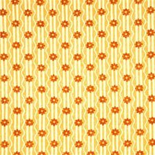 Yellow Botanical Decorator Fabric by G P & J Baker