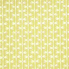 Lime/Chalk Botanical Decorator Fabric by G P & J Baker