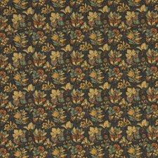 Indigo/Multi Print Decorator Fabric by G P & J Baker