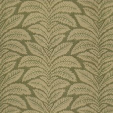 Green Print Decorator Fabric by Brunschwig & Fils