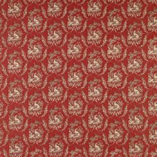 Ruby Animal Decorator Fabric by Brunschwig & Fils