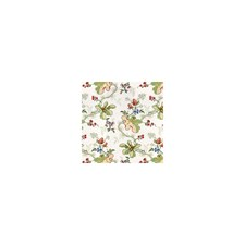 White Botanical Decorator Fabric by Brunschwig & Fils