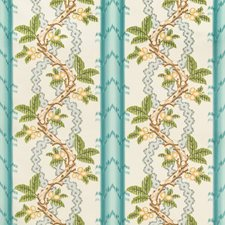 Aqua/Mist Botanical Decorator Fabric by Brunschwig & Fils