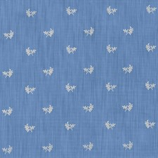 Canton Blue Botanical Decorator Fabric by Brunschwig & Fils
