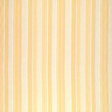 Apple Yellow Stripes Decorator Fabric by Brunschwig & Fils
